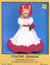 "Vanessa Doll Outfit For 15"" Doll Td Creations Crochet PATTERN/INSTRUCTIONS - $2.67"