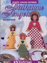 Birthstone Angels 12 Designs Plastic Canvas PATTERN/INSTRUCTIONS Booklet - $1.77