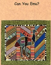 Can You Emu? I Wanna Quilt Pattern Leaflet NEW - 30 Days to Shop & Pay! - $1.77