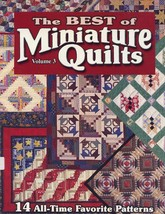 Best of Miniature Quilts Vol 3 32 page Quilt Pattern Book RARE - 30 Days... - $44.97