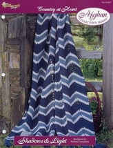 Shadows & Light Afghan TNS Country at Heart Crochet Pattern/Instructions NEW - $1.77