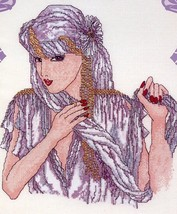 The Ladies: Desiree Cross My Heart Cross Stitch Pattern - 30 Days to Pay! - $3.12