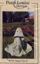 Sweet Pea Hoody Tote Booties Pearl Louise Designs Quilt Pattern 30 Days ... - $7.17