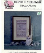 Winter Facets with Bead Pack Friends in Needlework Cross Stitch Pattern NEW - $6.27