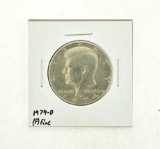 1974-D Kennedy Half Dollar (F) Fine N2-3668-9 - $0.89