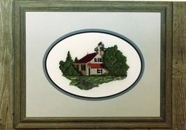 Lighthouse Graphic Images Presentation Cross Stitch Pattern Leaflet RARE - $7.17