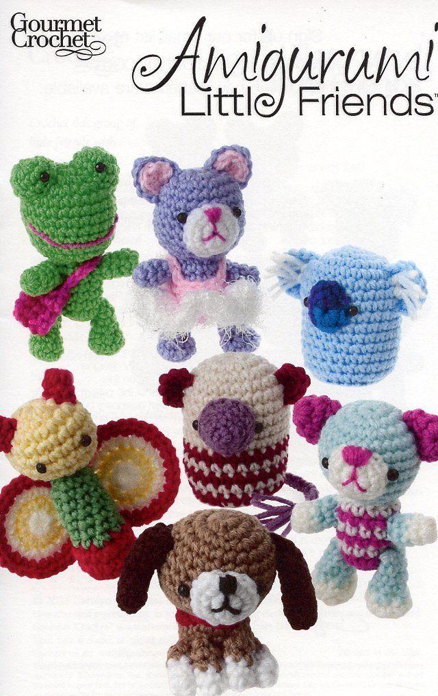 Amigurumi Little Friends Beagle Bear Cat Koala Gourmet Crochet Pattern Leaflet