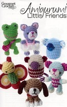 Amigurumi Little Friends Beagle Bear Cat Koala Gourmet Crochet Pattern Leaflet - $8.07