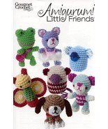 Amigurumi Little Friends Beagle Bear Cat Koala Gourmet Crochet Pattern L... - $10.35 CAD