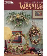 Wreaths With Ease LA1631 Pattern Leaflet - 30 Days To Pay! - $3.57