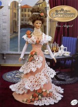 Miss August 1995 Bridal Trousseau for Barbie Doll Crochet Pattern Booklet - $4.47
