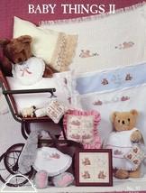 Baby Things II Homespun Elegance Cross Stitch Pattern -30 Days To Shop & Pay! - $1.77