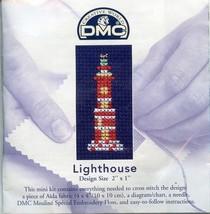 Lighthouse DMC Cross Stitch Mini Kit NIP 30 Days to Shop & Pay! - $3.57