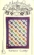 Rainbow Cuddler Clothesline Quilts Quilt Pattern - 30 Days to Shop & Pay! - $6.27