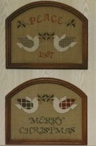 Christmas Doves by Sweetheart Tree Cross Stitch Pattern Leaflet - $2.67