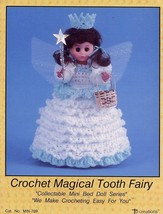 Magical Tooth Fairy Bed Doll Outfit Crochet PATTERN/INSTRUCTIONS Leaflet - $2.67