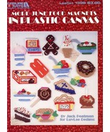 More Junk Food Magnets Hoagie Plastic Canvas PATTERN -30 Days To Shop & Pay! - $4.47