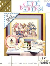 Cute Babies Graph Menagerie Gibson Cross Stitch Pattern - 30 Days To Sho... - $2.22