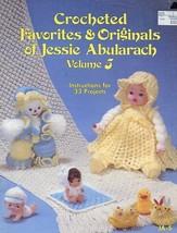 Crocheted Favorites & Originals Jessie Abularach Vol 5 33 Projects Dolls Leaflet - $2.67