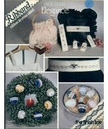 Linda Dennis Elegance Ribband Beads Cross Stitch Pattern Leaflet Eggs Or... - $2.67
