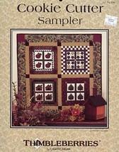 Cookie Cutter Sampler L. Jensen Thimbleberries Quilt Pattern Leaflet - $4.47