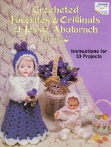 Crocheted Favorites Jessie Abularach Vol 3 33 Projects Pattern Booklet - $2.67