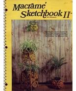 Macrame Sketchbook II Lee Originals L-727 Pattern Leaflet - $5.37