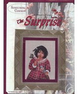 The Surprise Girl, Butterfly, Bouquet Cross Stitch Pattern 30 Days To Sh... - $4.47