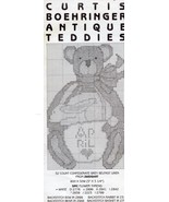 Boehringer Antique Teddies #311 Cross Stitch Pattern -30 Days To Shop & ... - $1.77