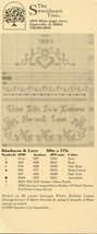 Those Who Sow Kindness Harvest Love Sweetheart Tree Cross Stitch Pattern Leaflet - $2.67