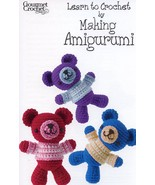 Learn to Crochet by Making Amigurumi Gourmet Pattern/Instructions Leafle... - $153,67 MXN
