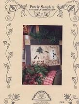 Patches Of Christmas IV Sampler Homespun Elegance Cross Stitch Pattern NEW - $5.37