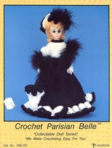 "Parisian Belle 15"" Doll Outfit Td Creations Crochet PATTERN/INSTRUCTIONS - $3.12"