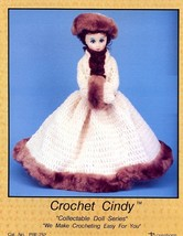 "15"" Cindy Doll Outfit Td Creations Crochet Pattern $3 Flat Rate Shipping - $3.12"