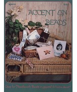 Accent On Beads Purse, Rose Cross Stitch Pattern Leaflet  30 Days To Sho... - $3.57