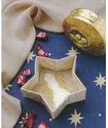 Star Candy Dish Plastic Canvas Pattern Leaflet - 30 Days To Shop & Pay! - $1.77