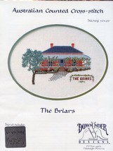 Australia The Briars Down Under Designs Cross Stitch Pattern Leaflet NEW - $8.07