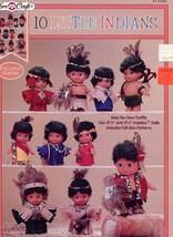 10 Little Indians Glue Patterns No Sew Fibre Craft FCM405 30 Days To Shop & Pay! - $8.07