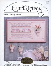 Heart of My Heart HeartStrings Cross Stitch Pattern Leaflet - 30 Days to... - $2.67