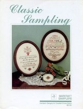 Classic Sampling Barkraft Cross Stitch Pattern 2 Sampler Designs NEW - $2.67