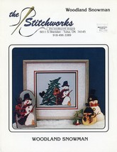 Woodland Snowman Stitchworks Cross Stitch Pattern Leaflet - 30 Days to Pay! - $3.57