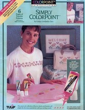 Simply Colorpoint Starter Series Paintstitching... - $1.77