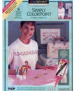 Simply Colorpoint Starter Series Paintstitching Pattern - 30 Days To Sho... - $1.77