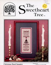 Christmas Band Sampler Sweetheart Tree Cross Stitch Pattern - $3.12