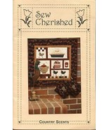 Country Scents Kitchen Sew Cherished Quilt Pattern Leaflet NEW - $3.57