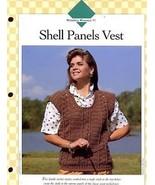 Shell Panels Vest S-M-L Vanna Crochet Pattern NEW HTF 30 Days to Shop & ... - $0.90