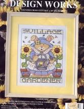 Village Gardener Bunny Design Works Cross Stitch Kit NIP 30 Days to Shop... - $11.67