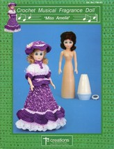 Miss Amelia Musical Fragrance Doll Crochet Pattern  - 30 Days To Shop & Pay! - $2.67