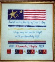 Sweet Land of Liberty Opened In Stitches Needlework Cross Stitch Kit - $9.87