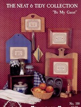 Be My Guest Neat & Tidy Collection Homespun Elegance Cross Stitch Pattern - $3.03